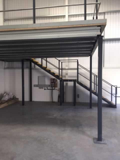 Mezzanine floor design for Garage mezzanine design